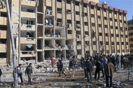 Carnage in Aleppo University in Syria